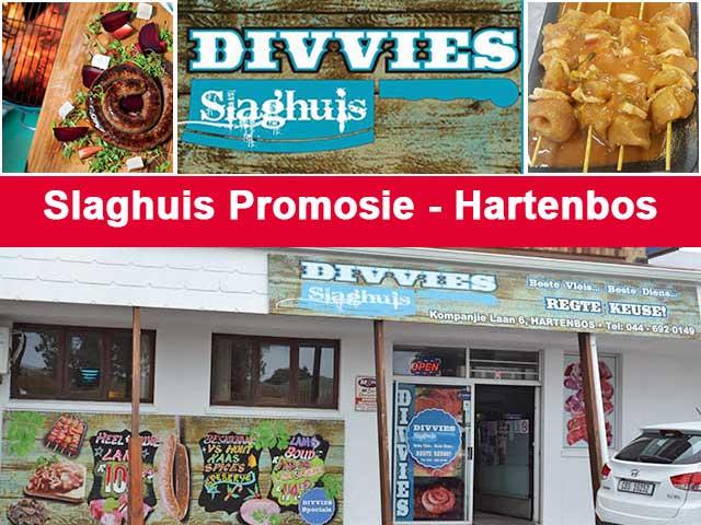Slaghuis met Spesiale Pryse op Vleis in Hartenbos