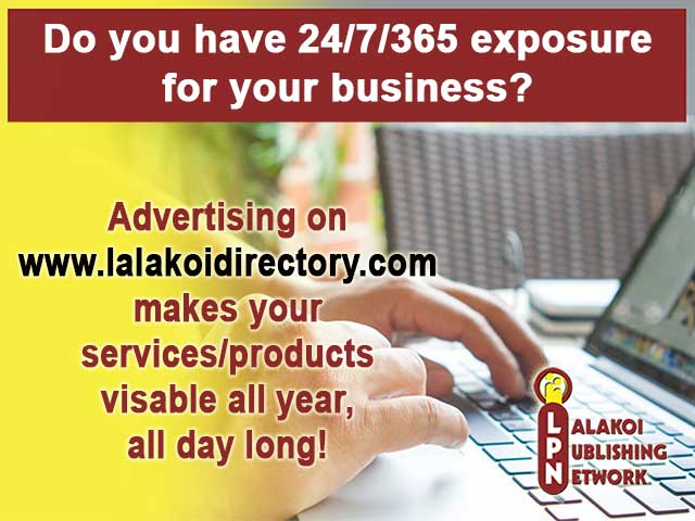 Lalakoi Exposure for businesses