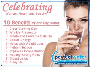 Perfect Water George Celebrate Woman's Day