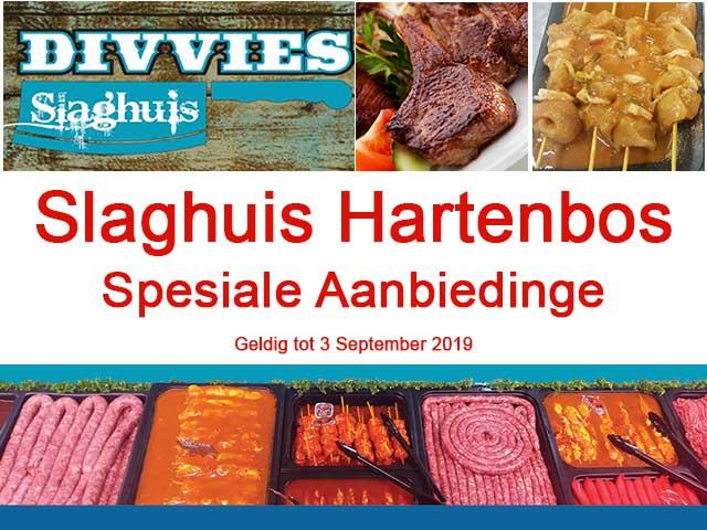 Divvies Slaghuis Hartenbos Spesiale Aanbiedinge tot 3 September 2019