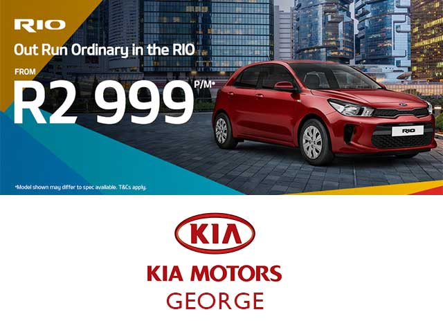 KIA RIO Promotion in George
