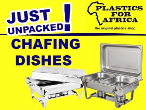 Chafing Dishes Just Unpacked in George