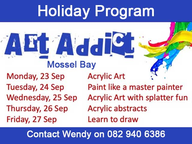 Art Class Holiday Program Mossel Bay