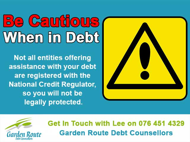 Be Cautious When in Debt