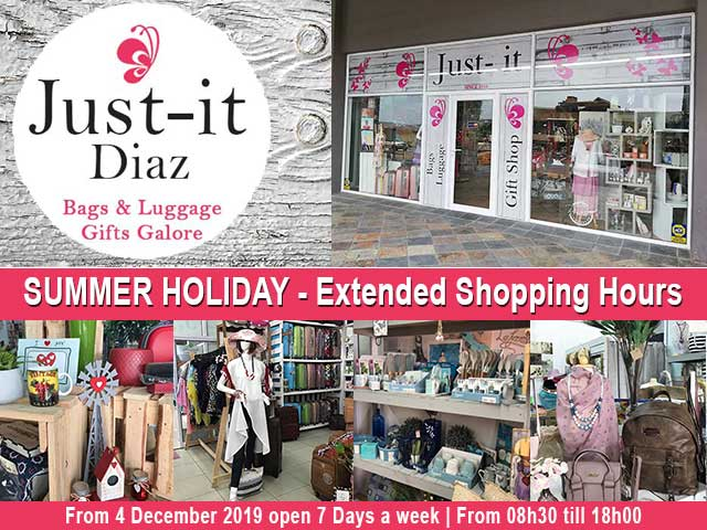Diaz Beach Gifts Shop's Summer Holiday Extended Hours