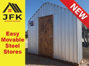 Easy Movable Steel Stores
