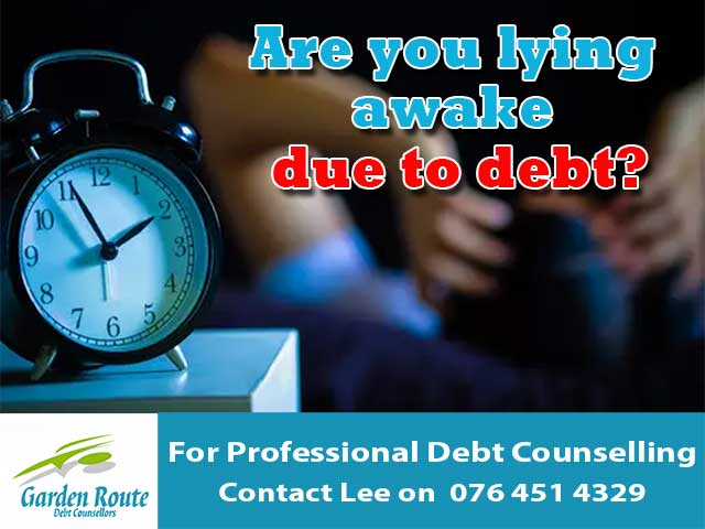 Are you lying awake due to debt?
