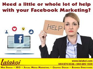 Need a little or whole lot of help with your Facebook Marketing