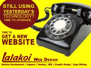 Time to Upgrade your website