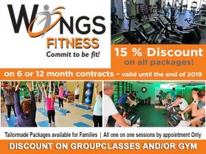 Discount on Group Classes and or Gym in Mossel Bay