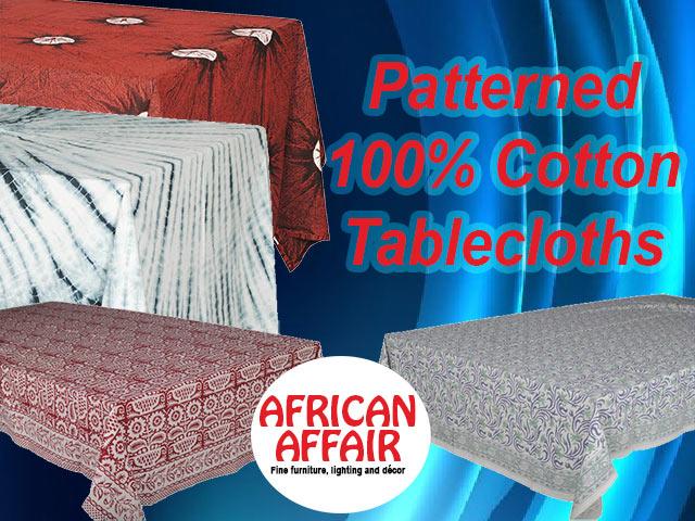 African Affair Table Cloths