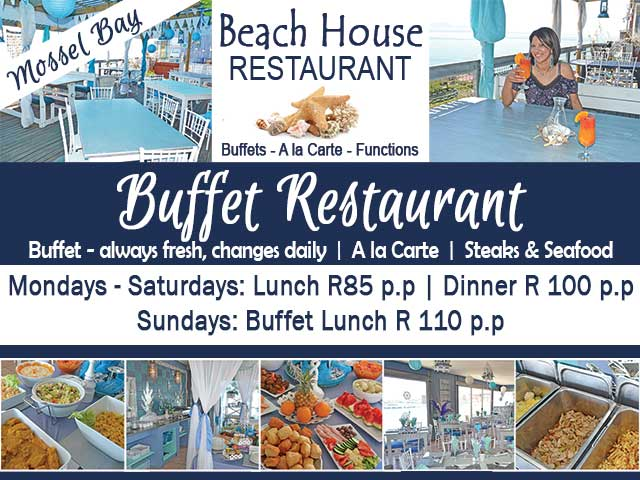 Excellent Buffet Restaurant in Mossel Bay