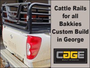 Cattle Rails for all Bakkies Custom Build in George