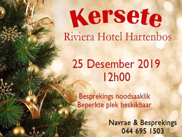 Kersete in Hartenbos
