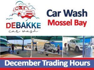 Mossel Bay Car Wash December Hours