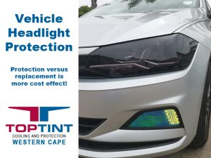 Vehicle Headlight Protection TopTint