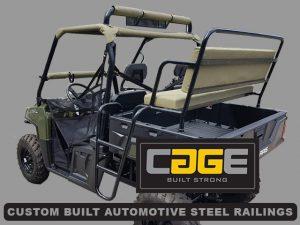 Custom Built Automotive Steel Railings in George