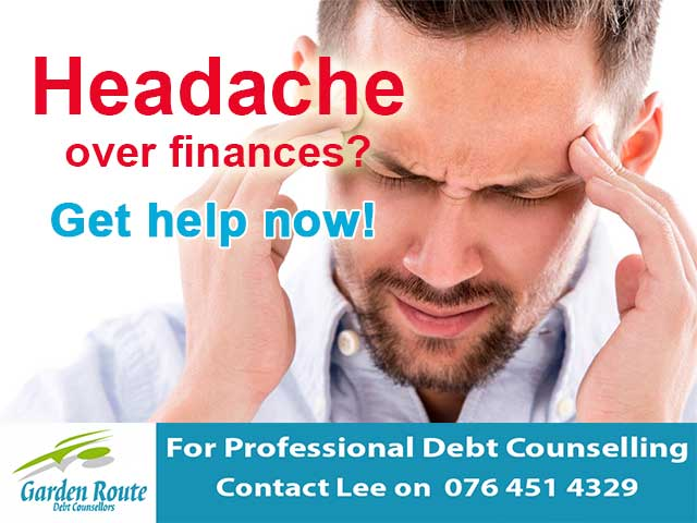 Headache over Finances? Get help now!