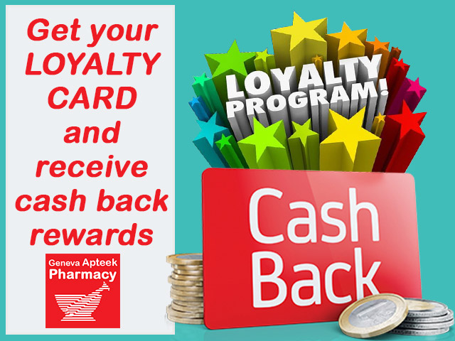 Cash Back Rewards from Pharmacy in George