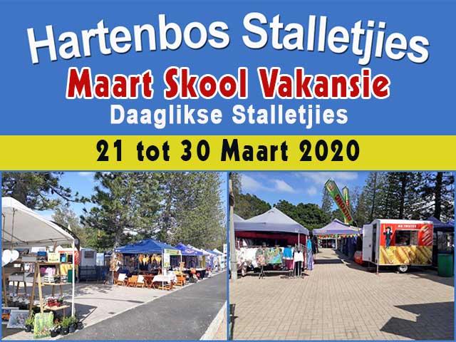 Hartenbos Stalletjies Maart Skoolvakansie 2020