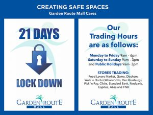 Garden Route Mall Lockdown Trading Hours
