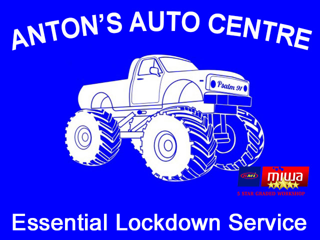 Anton's Auto Centre George Lockdown Services