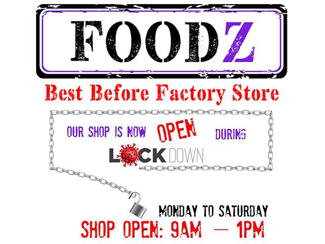 Foodz Grocery Factory Shop in George Lockdown Trading