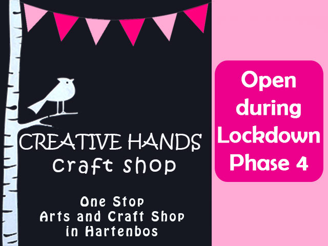 Hartenbos Art Shop Open during Lockdown Phase 4