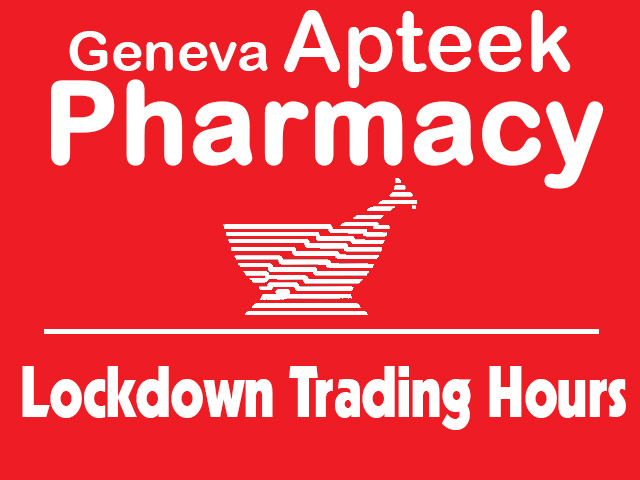 Geneva Pharmacy George Lockdown Trading