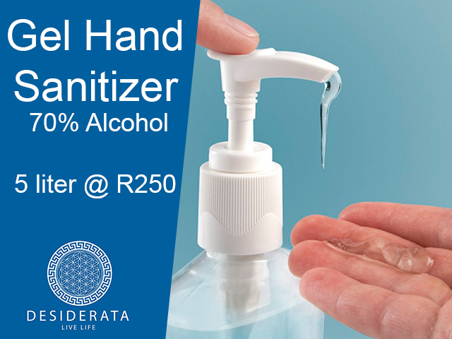 Gel Hand Sanitizer in George