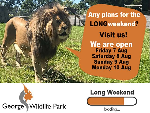 Family Attraction in George Open this Long Weekend