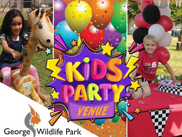 Kids Party Venue at George Wildlife Park
