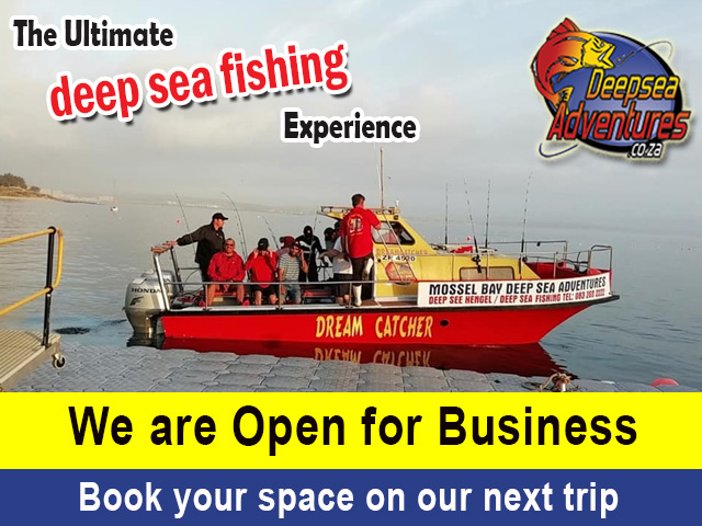 Mossel Bay Deep Sea Adventures Open for Business