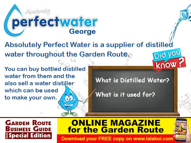 Garden Route Distilled Water Supplier