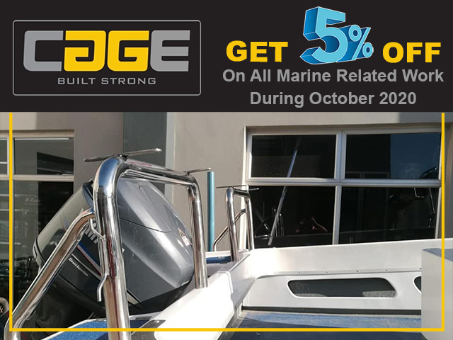 Special on Custom Built Steel Marine Products in George