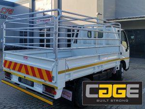 Steel Vehicle Railings Manufactured in George