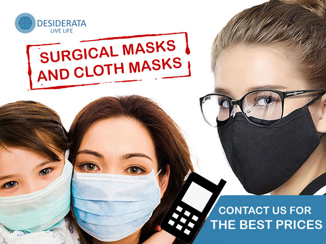 Surgical and Cloth Masks in South Africa