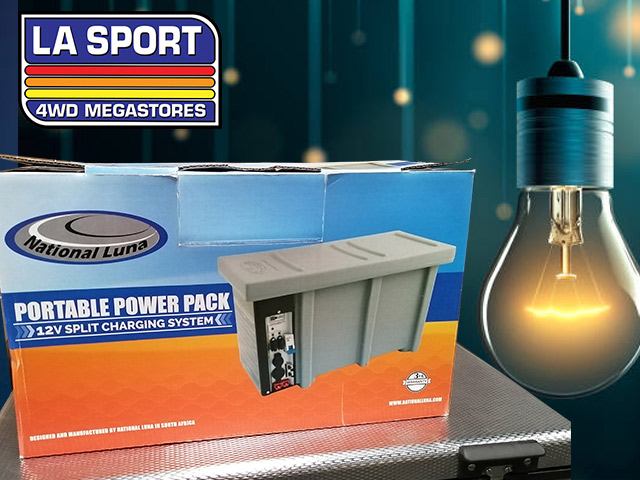 Get Your Portable Power Pack in George
