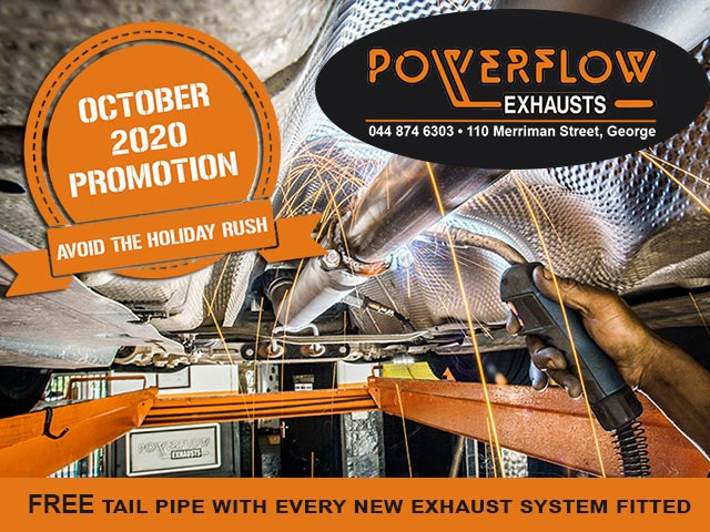 October Special at Powerflow Exhausts George