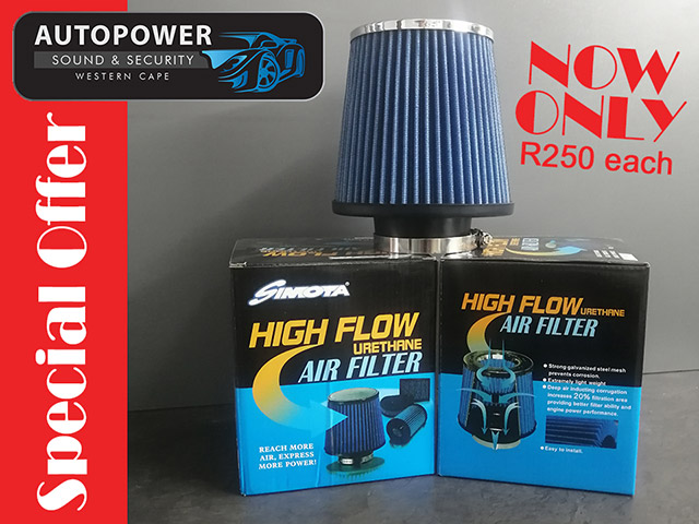 Special on High Flow Air Filters in George