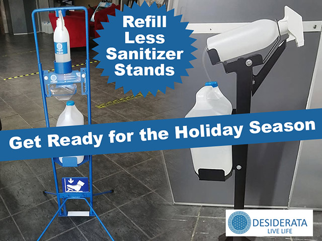 Hand Sanitizer Stands Manufactured in the Garden Route