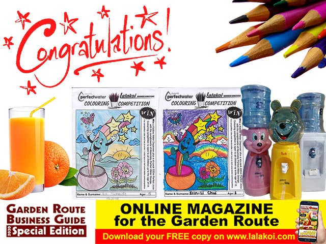 Lalakoi and Absolutely Perfect Water 2020 Colouring Competition Winners