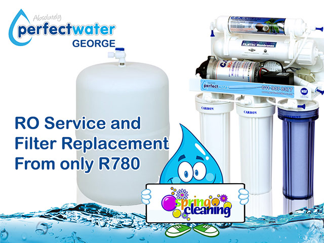RO Water Filter Replacement and Service in George