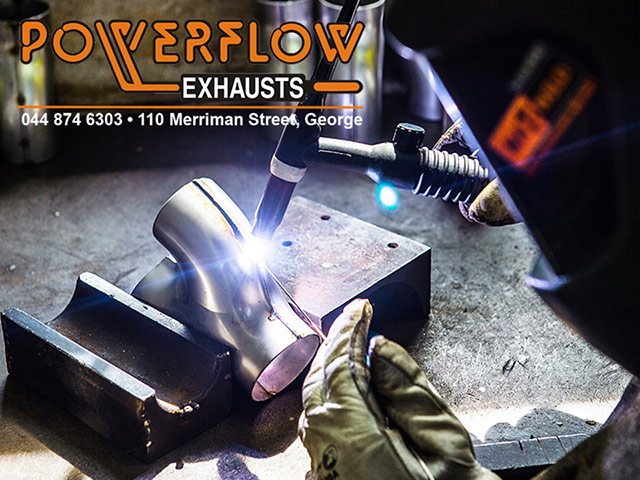 Stainless Steel Silencers at Powerflow in George