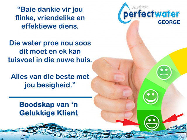 Flinke Diens van Absolutely Perfect Water George