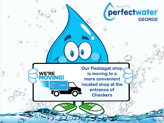 Perfect Water George Paddagat Shop is Moving