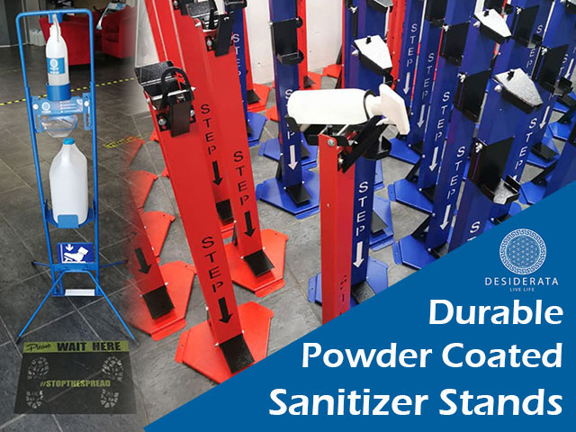 Durable Hand Sanitizer Stand Manufacturers in George