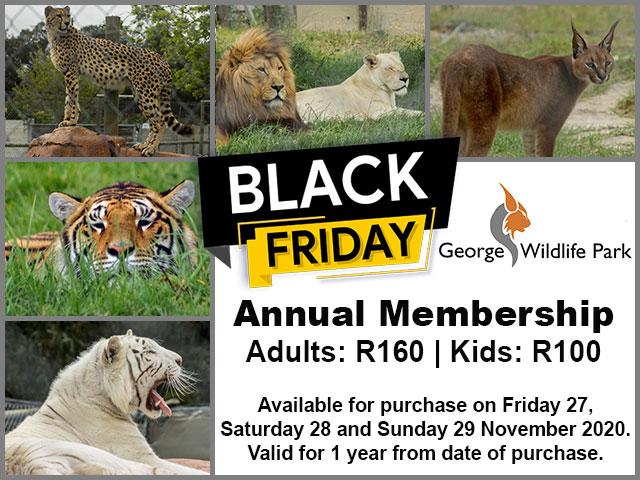 George Wildlife Park Annual Membership Special