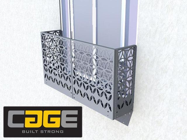 Custom Made Juliet Balconies in George