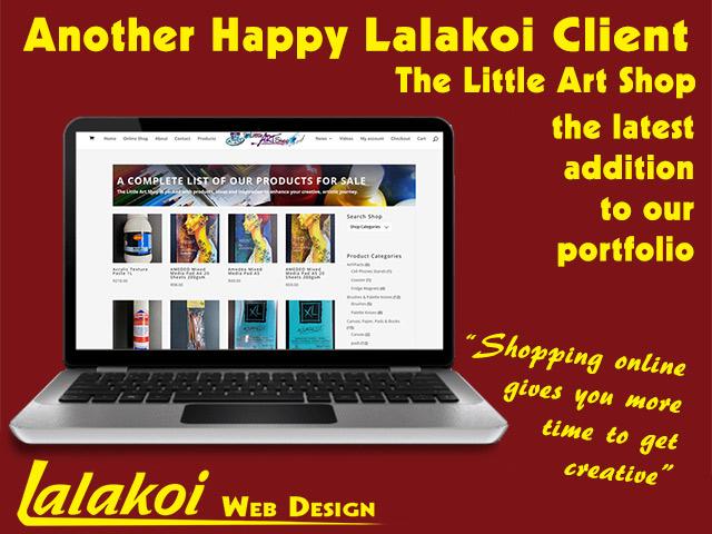 The Little Art Shop Online Shop by Lalakoi